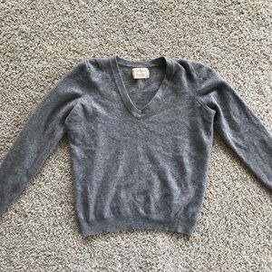 Vintage Cashmere by Pringle Grey Sweater